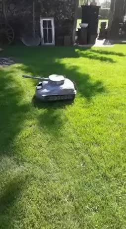 Wir müssen das gras ausrotten