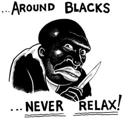 around blacks