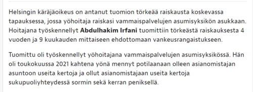 Sama uutinen, toinen YLE:n. Arvaa kumpi..